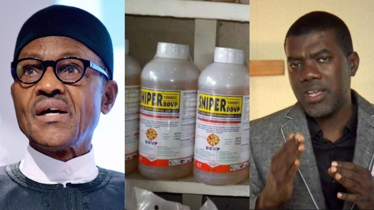 Image result for Reno Omokri advises Buhari to ban Sniper as suicide rate increases