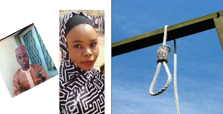 Jealous boyfriend to die by hanging for killing girlfriend in Yobe