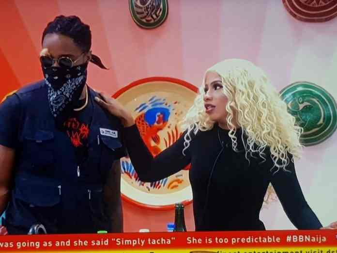 BBNaija: What Tacha told Mercy after Biggie issued Ike 2nd strike