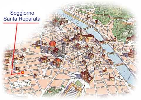 Soggiorno Santa Reparata 50129 Firenze Fi
