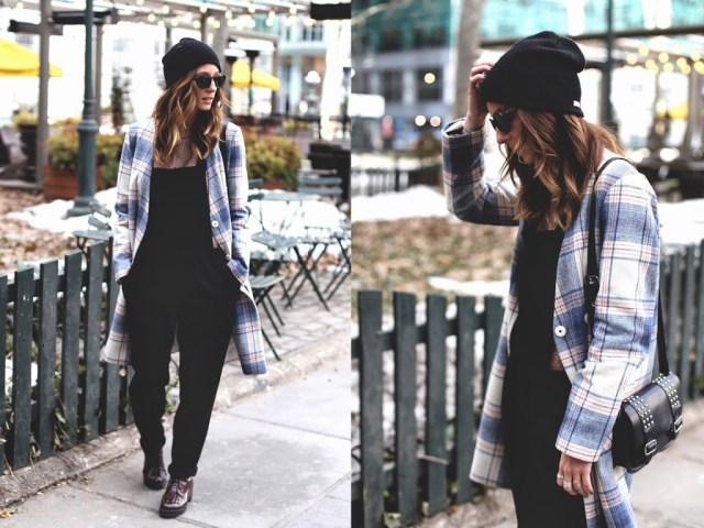 overalls, tobruckave, plaid, line and dot