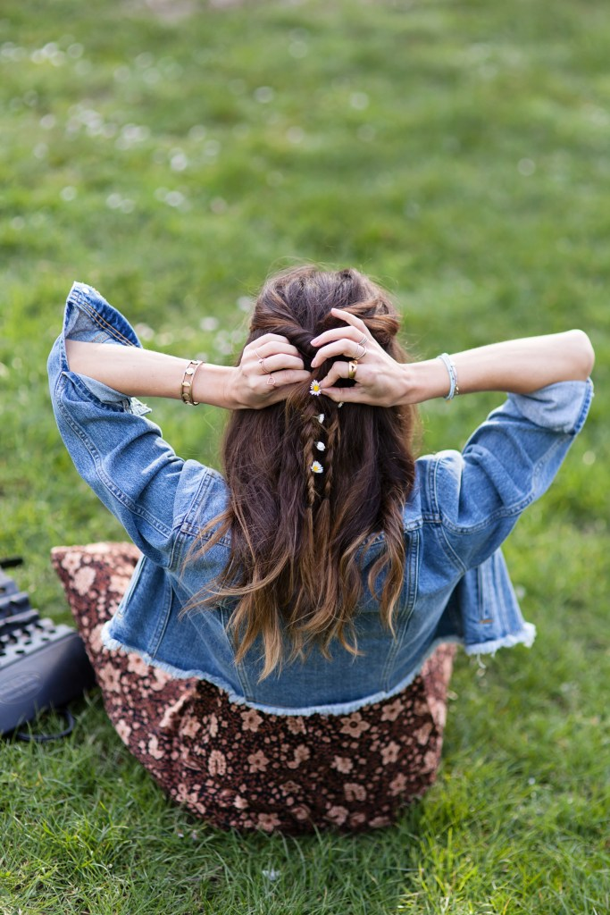 How to: Festival Hair