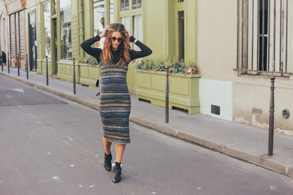 Paris in the Fall, the perfect look from Nordstrom worn by blogger Kiara Schwartz