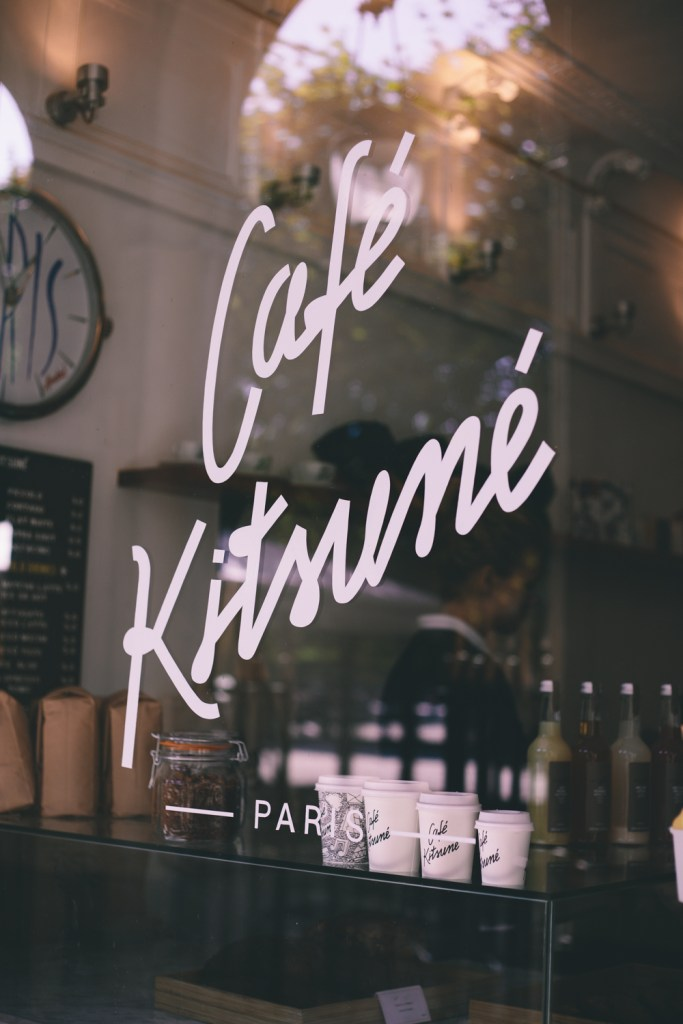 Cafe Kitsuné is part of the instagram guide to paris