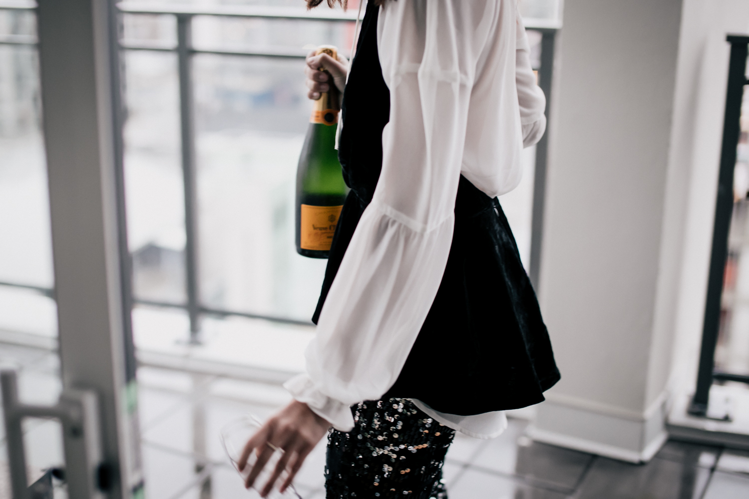 NYE outfit inspiration via Express