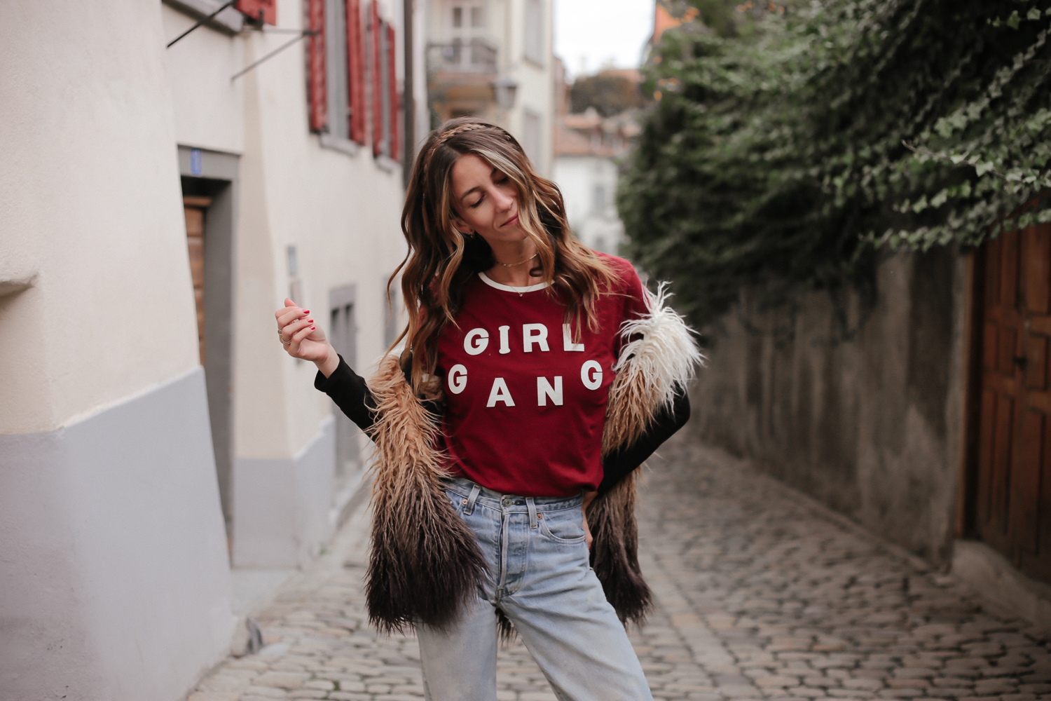 Girl Gang Tee by Eleven Paris