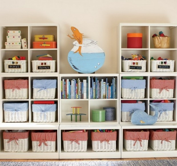 children's storage ideas :: storing things you simply can't part