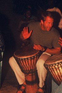 Drumming in Africa with Malidoma Some'
