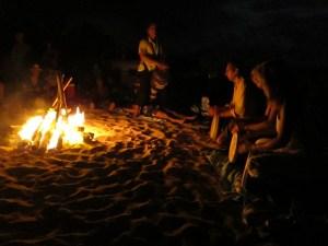 Healing Drum at Full Moon Fire
