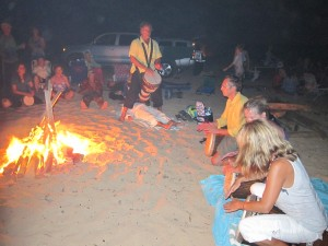 Full Moon Fire and the Healing Drum