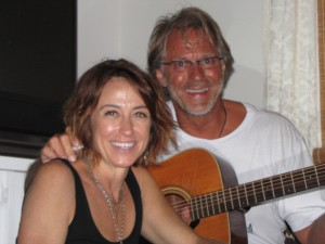 Sherie with Toby on Guitar