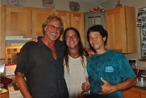 Toby, John and Danny