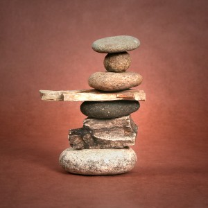 Stones Balanced