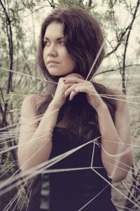Girl in Web