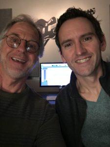 Me and CJ at CJL Studios Helping Friends