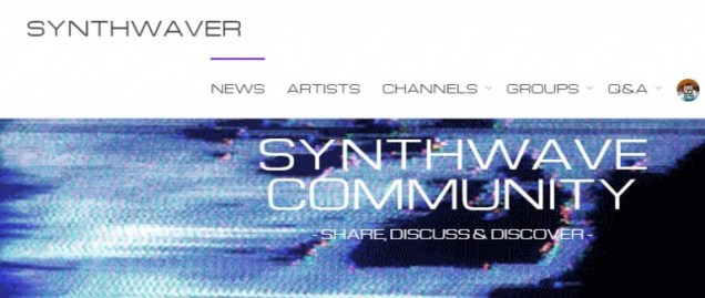 Find related synthwave artists on Synthwaver.com