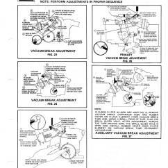 Rochester 4 Barrel Carburetor Diagram Kicker Cvr 12 Wiring 2 Jet Manual The Old Car Project