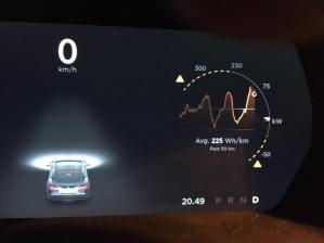 Slik ser det ut på en bil med autopilot