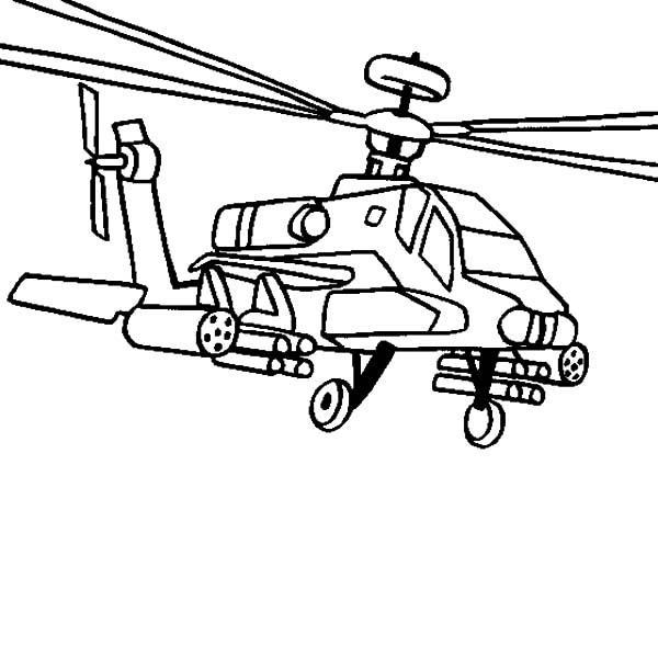 Free blackhawk helicopter coloring pages