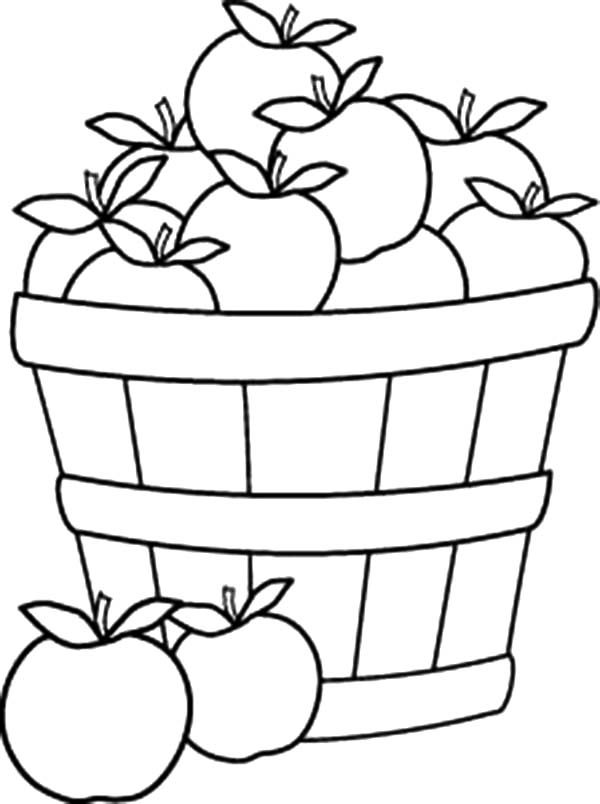 Pin Picnic Basket Colouring Pages on Pinterest