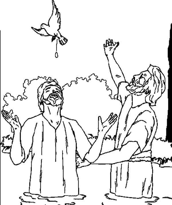 Holy Spirit Gifts Coloring Page Sketch Coloring Page
