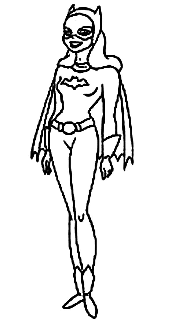 Batgirl Is Laughing Coloring Pages : Best Place to Color