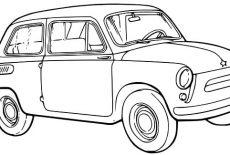 Buick Antique Car Coloring Pages : Best Place to Color