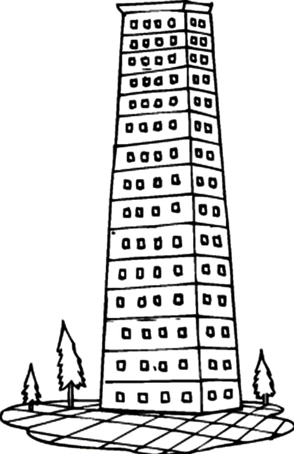 Luxury Apartment In The City Coloring Pages : Best Place