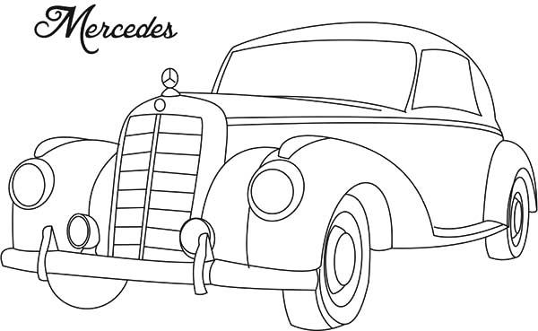 Mercedes Benz Amg Gt Design Sketch Sketch Coloring Page