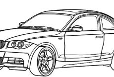 BMW Car Racing GT Coloring Pages : Best Place to Color
