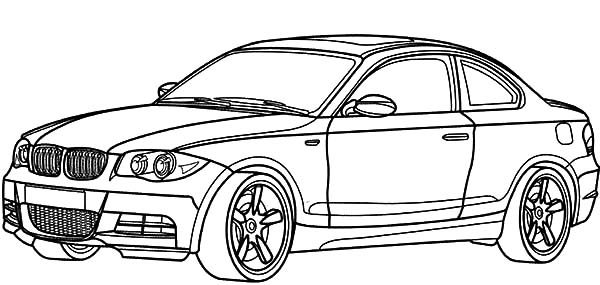Bmw M5 Coloring Page