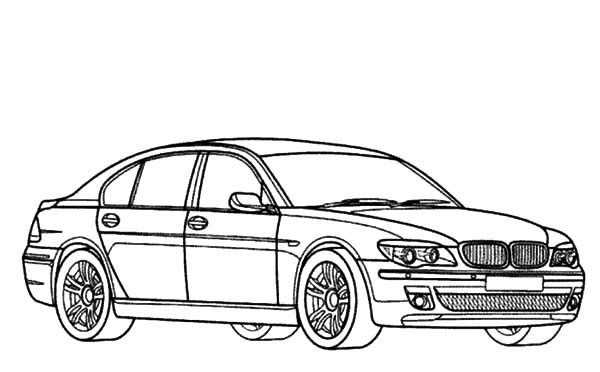 E30 M3 Bmw Pencil Drawing Sketch Coloring Page Car