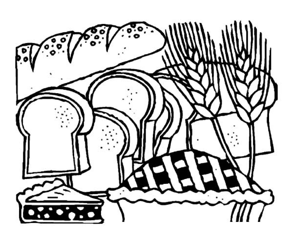 bread store coloring pages  best place to color