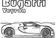 How To Draw Bugatti Car Coloring Pages : Best Place to Color