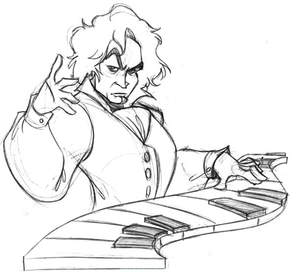 Symphony Page Coloring Pages