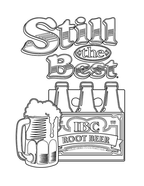 Free Coloring Pages Of Beer Mug