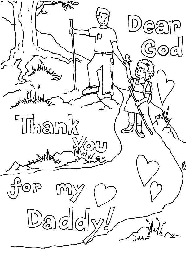 Free thank you coloring pages