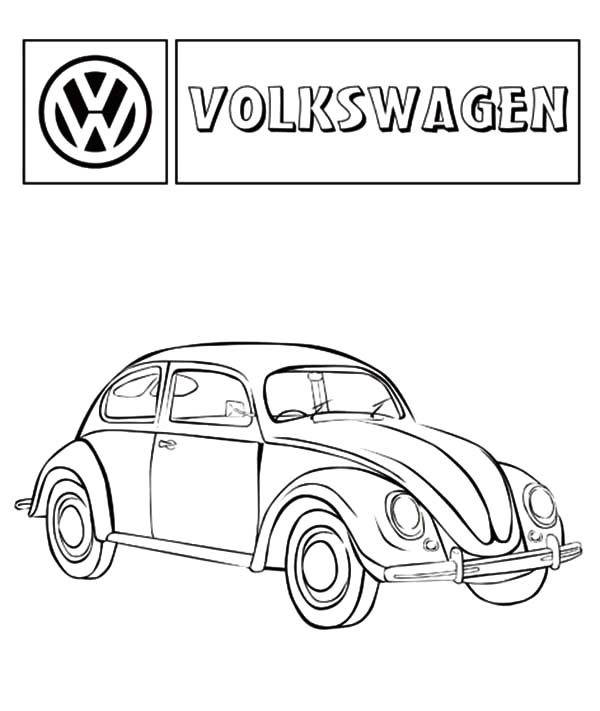 Pin Vw-beetle-colouring-pages on Pinterest