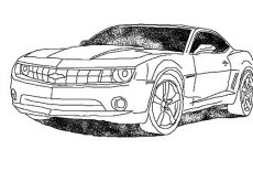 Modified Camaro Cars Coloring Pages : Best Place to Color