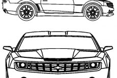 1967 Camaro Cars SS Coloring Pages : Best Place to Color