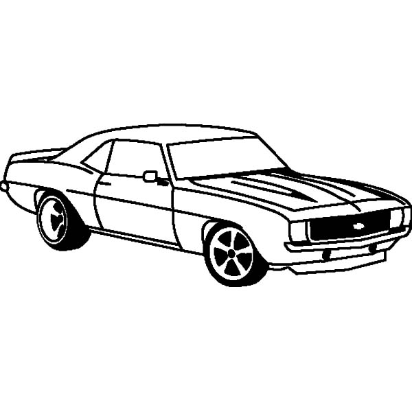 How To Draw Camaro Cars Coloring Pages : Best Place to Color