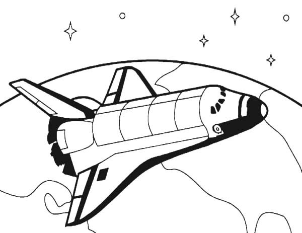 How to Draw Spacecraft for Space Travel Coloring Pages