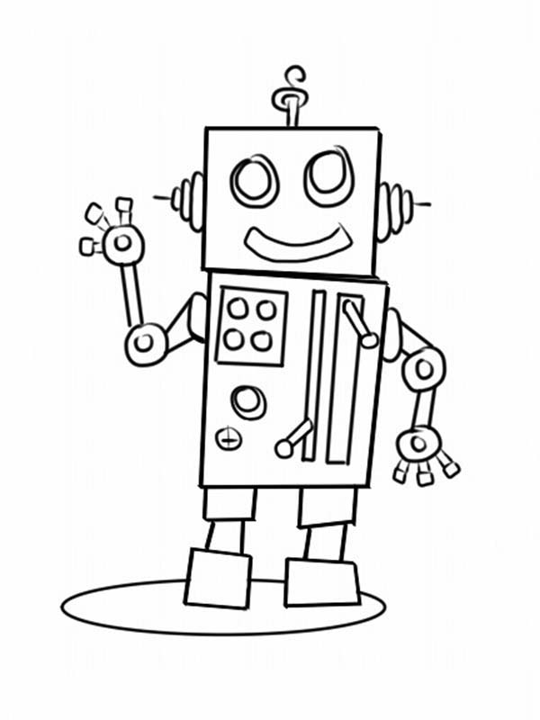 Make Your Own Robot Coloring Pages : Best Place to Color