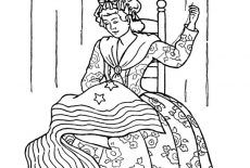 Hold The US Flag Proudly Patriots Day Coloring Pages