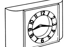 An Owl Clock Coloring Pages : Best Place to Color