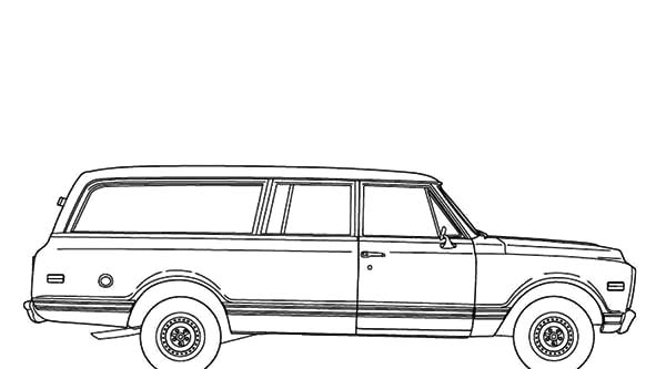 1967 Chevy Impala Coloring Pages