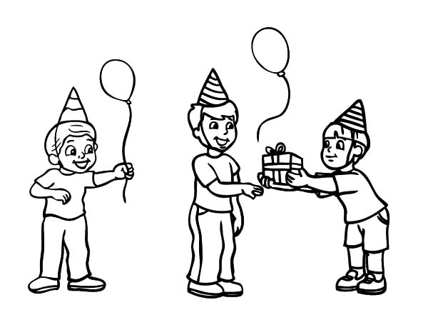 Slice Cake Coloring Page