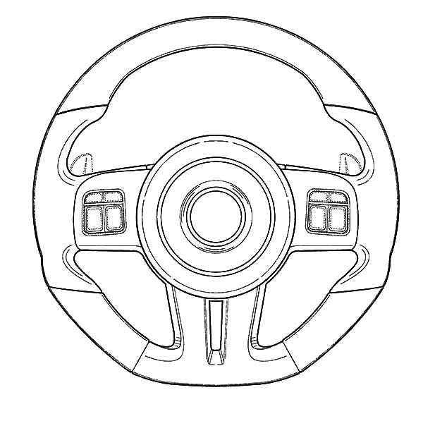 Car Parts Radioator Coloring Pages: Car Parts Radioator