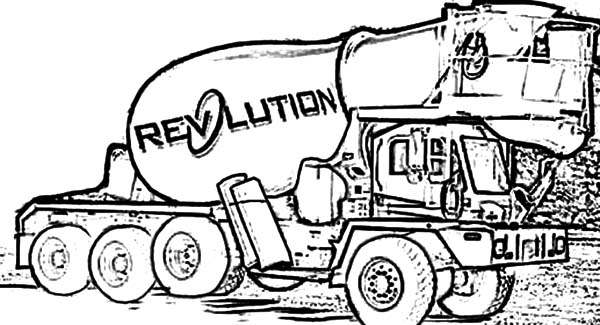Car Transporter Big Cement Truck Coloring Pages : Best