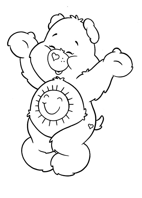 Care Bears Coloring Pages : Best Place to Color